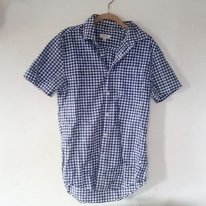 Blue Gingham Button-Down